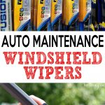 Great information on windshield wiper maintenance