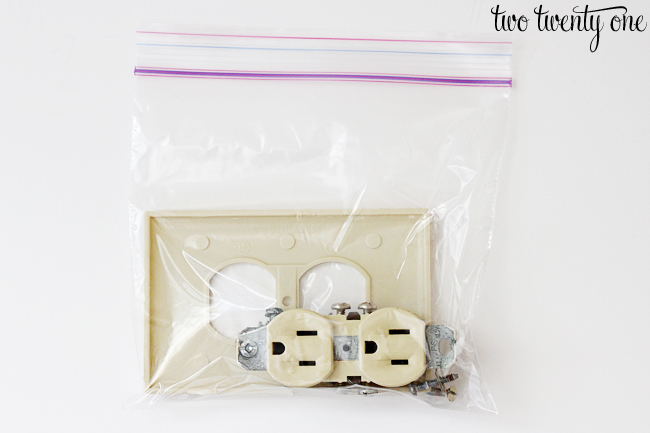 disposing old electrical outlets