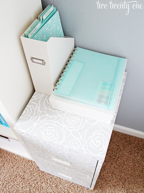 martha stewart home office with avery
