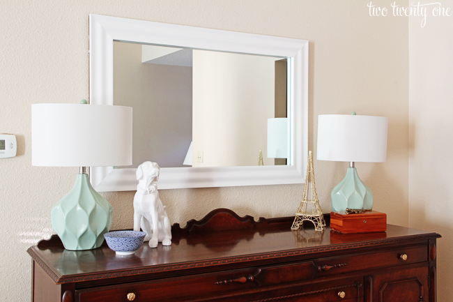 styled sideboard