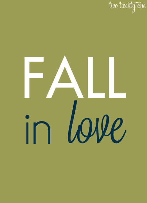 FREE fall printable 1