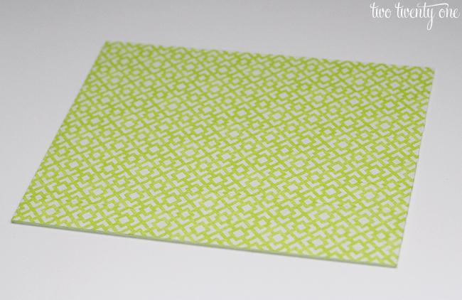 geometric masking tape