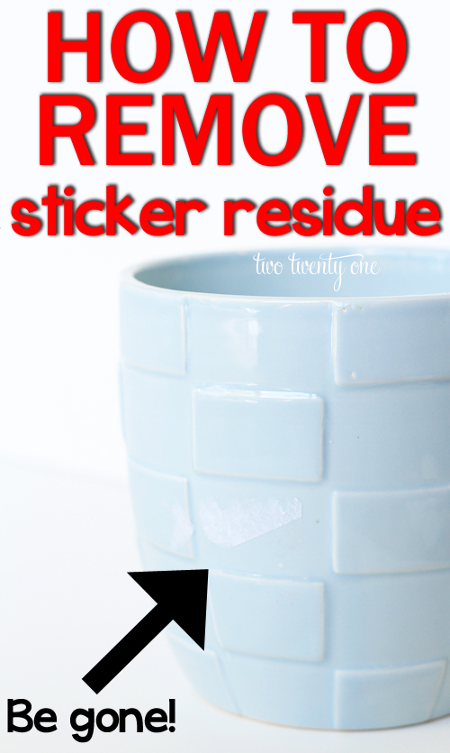 How To Get Sticker Residue Off Car