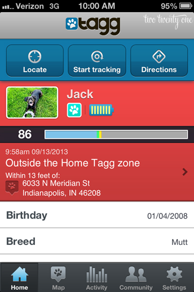 tagg pet tracker 1