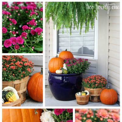 Fall Porch Decor 2013