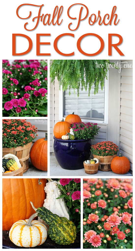 Fall Porch Display