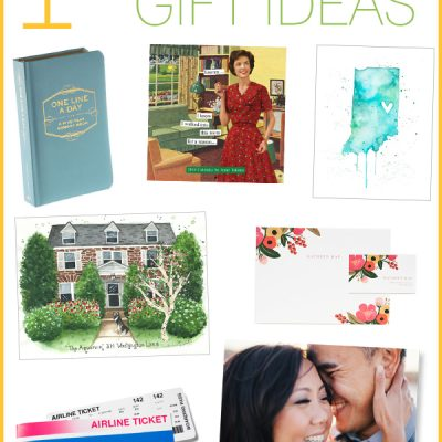 1st Wedding Anniversary Gift Ideas {Paper Gift Ideas}