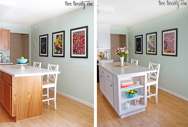 Kitchen Cabinet Makeovers Before And After kitchen cabinet makeover reveal