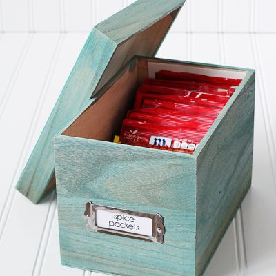 Spice Packet Organization