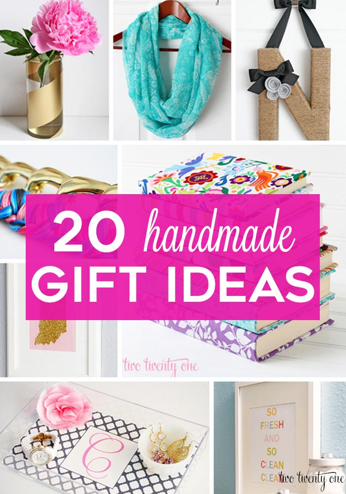 Handmade Gift 20 Ideas For Everyone On Your List