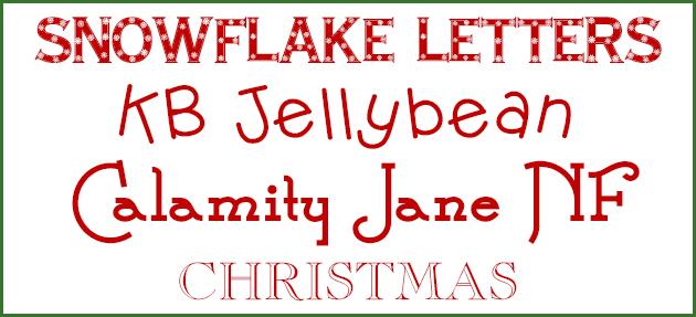 christmas fonts 2