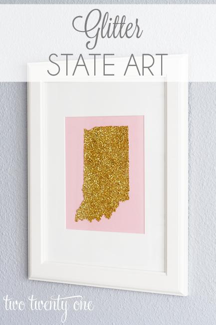 Glitter State Art 1