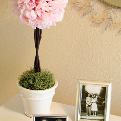 How to Make a Topiary {DIY}