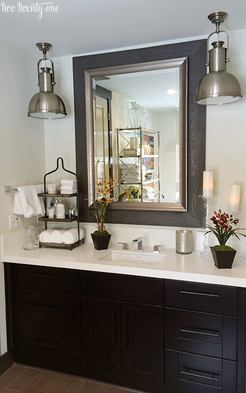 HGTV Dream Home master bathroom sink