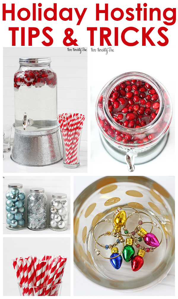 Great holiday hosting tips and tricks!
