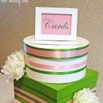 DIY wedding card box