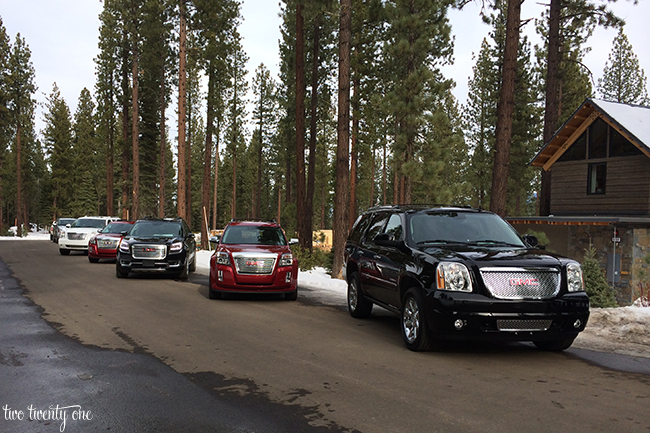 GMC Denali Dream Drive Lake Tahoe