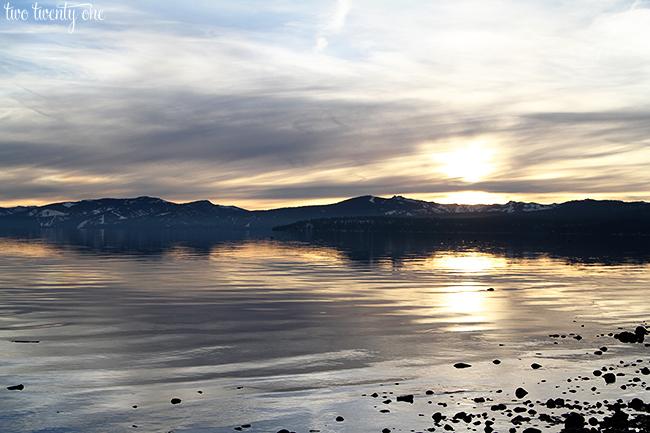 Lake Tahoe 2013 sunset 3