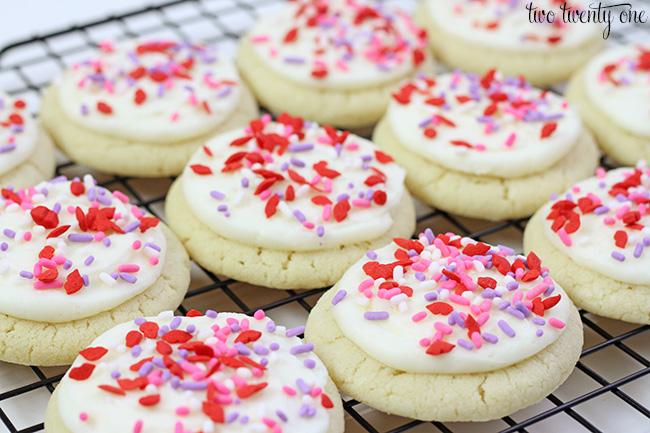 Easy sugar cookies!