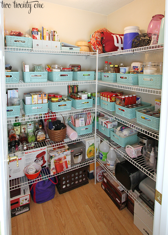Pantry organization for Organization ideas for kitchen pantry
