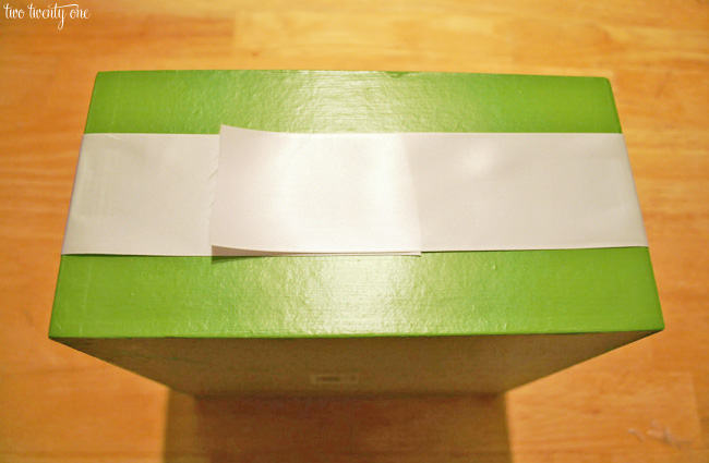 wedding program box instructions