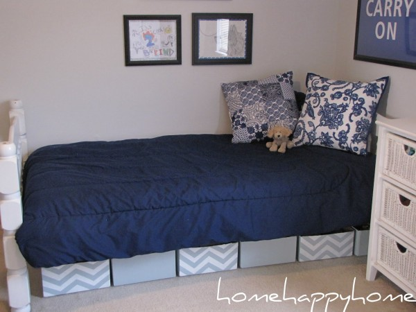 How to maximize storage space under the bed - Diy under bed storage ideas ...