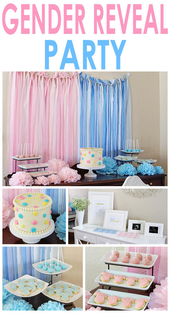 sc 1 st  Two Twenty One & Gender Reveal Party
