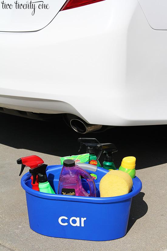 car wash caddy