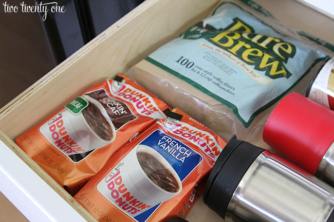 coffee drawer