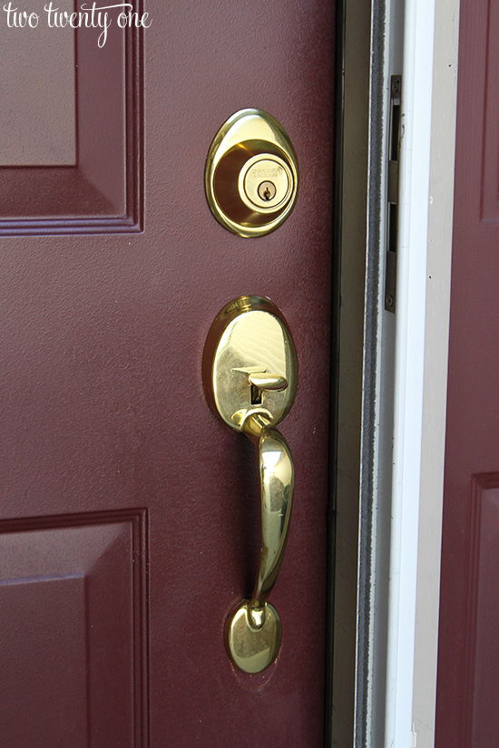 front door locksDress Up Your Doors  100 Lowes Giveaway