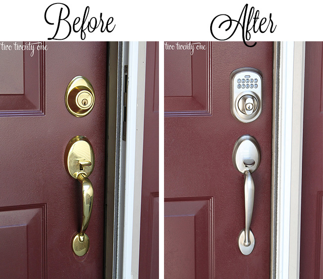 Dress Up Your Doors + $100 Lowes Giveaway