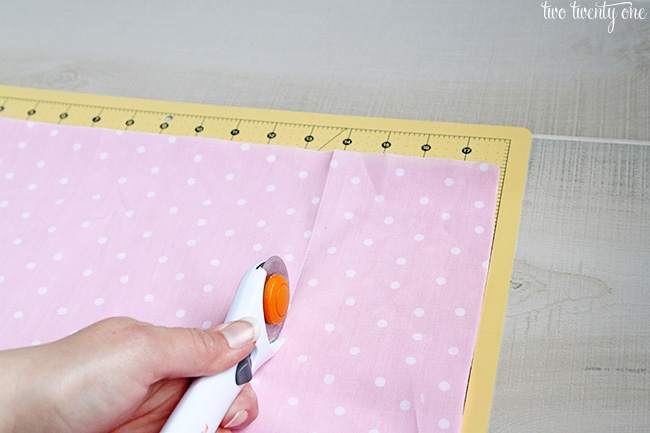 fabric backdrop how to