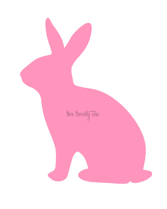 photograph regarding Bunny Printable called Absolutely free Bunny Printables