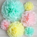 tissue paper pom pom how to
