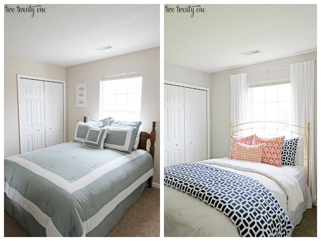 Redoing Bedroom Ideas guest bedroom makeover reveal