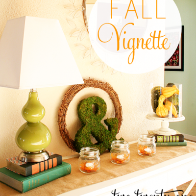 Fall Vignette {Fall Display}