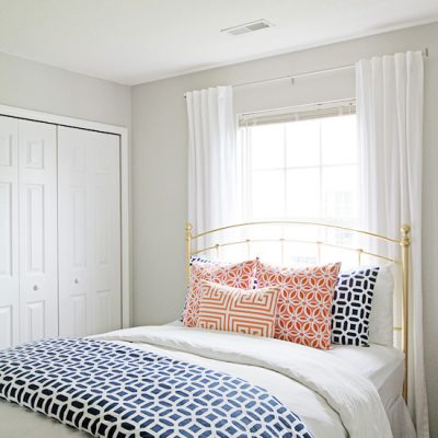 Guest Bedroom Makeover Details