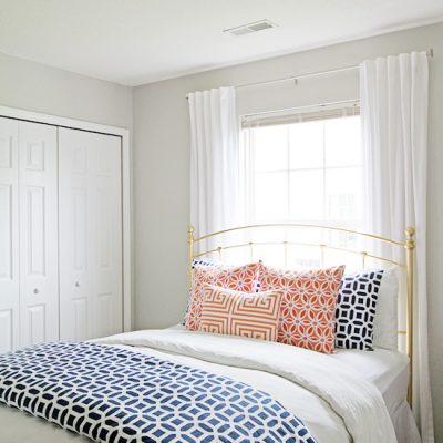 Guest Bedroom Makeover Details