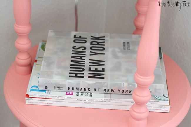 magazines and books