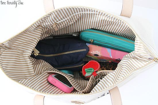 purse organization 550
