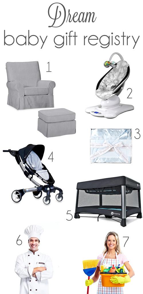 dream baby gift registry