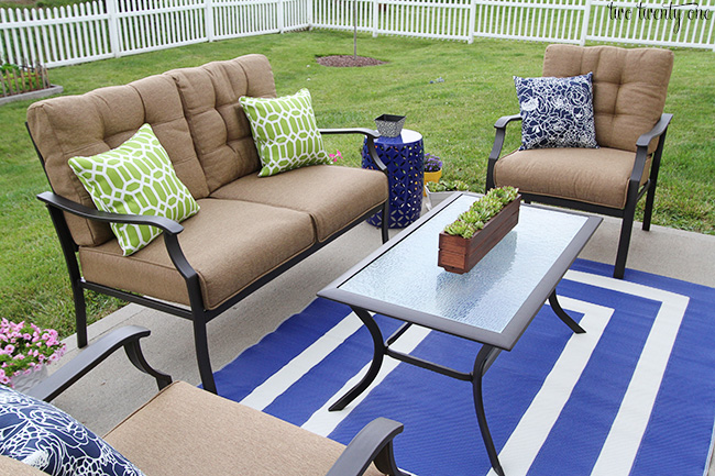Stunning garden treasures eastmoreland patio set