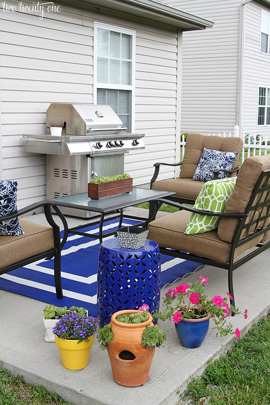 Cheap Patio Makeover Ideas Free Budget Patio Makeover