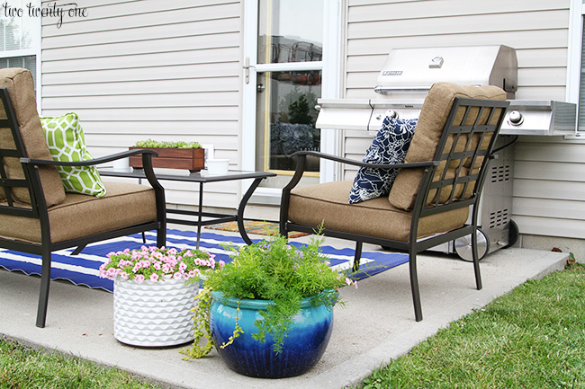 Good patio makeover