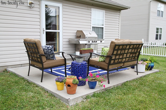 patio makeover after