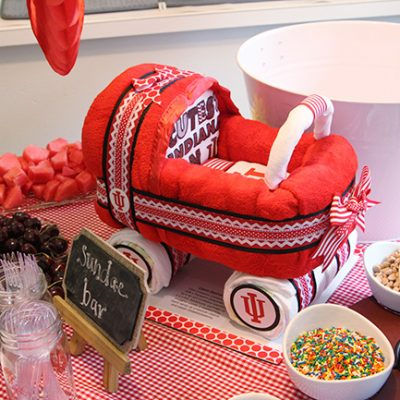 IU Themed Baby Shower