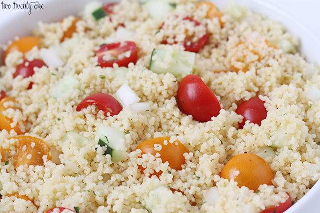 easy couscous salad