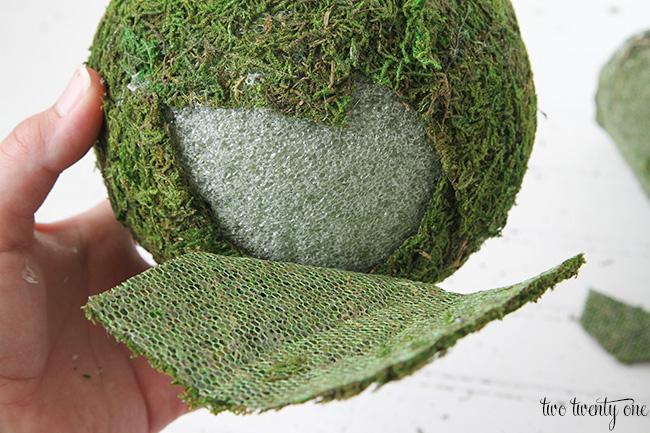 how to make moss balls