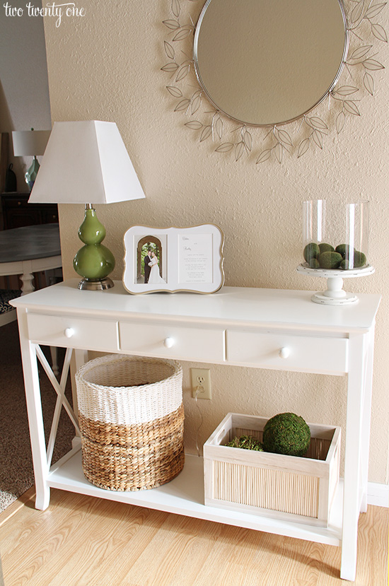 neutral entryway