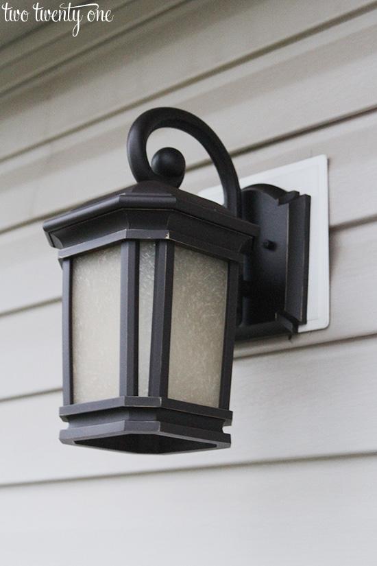 new outdoor light